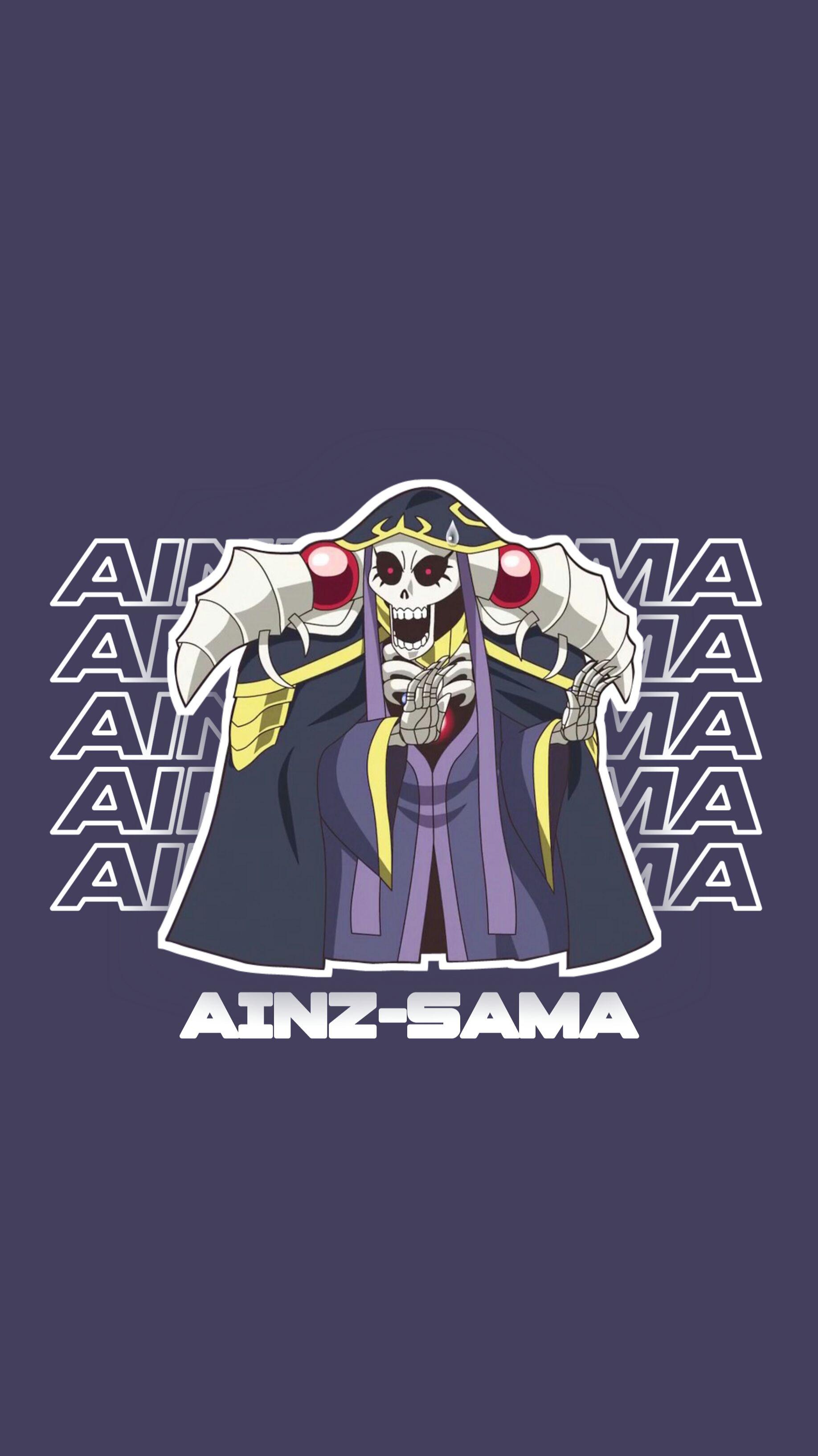 Ainzsama overlord wallpaper in 2020 Wallpaper, Anime, Art