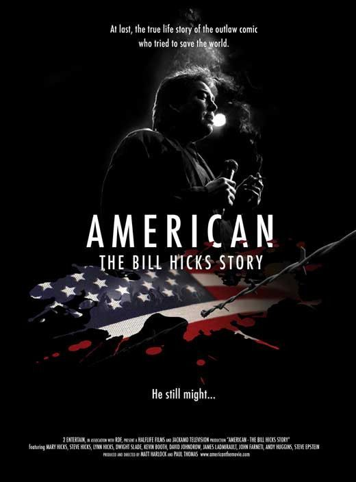 American: The Bill Hicks Story 11x17 Movie Poster (2009)