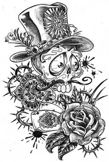 50 Fotos De Tatuagens Old School Desenhos E Imagens Tatuagem