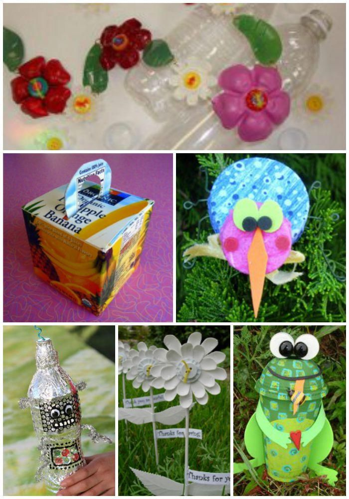 1000 Recycled Crafts Crafting With Recyclable Items For KidsEasy