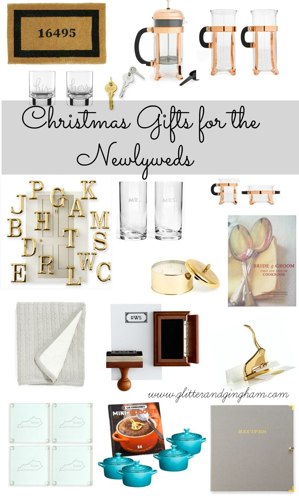 the best christmas gifts for the newlyweds - Christmas Gifts For Newlyweds
