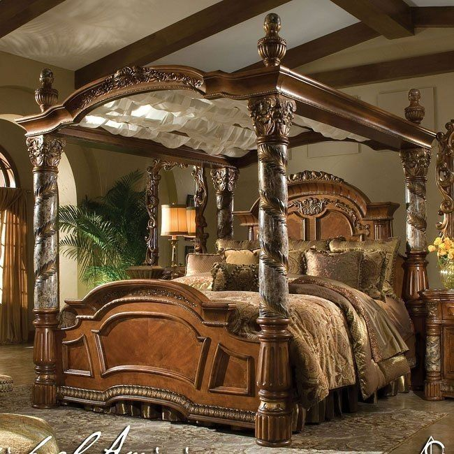 Villa Valencia Canopy Bed images