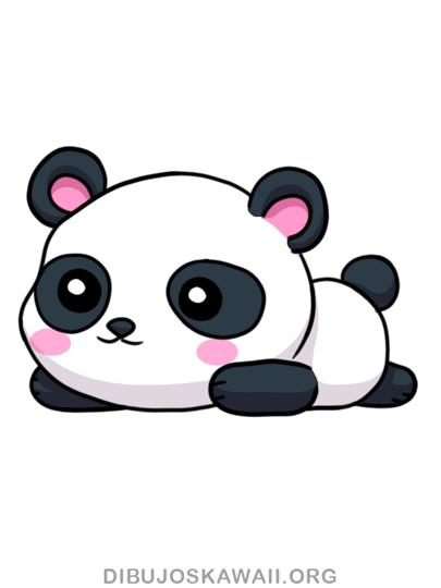 Como Dibujar Un Panda Kawaii Paso A Paso Dibujos Kawaii Como Dibujar Un Gato Dibujos Kawaii Como Hacer Dibujos Kawaii