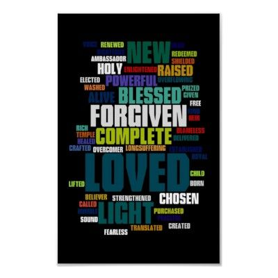 Who I Am In Christ Poster Zazzle Com Identity In Christ Christian Posters Verses For Cards