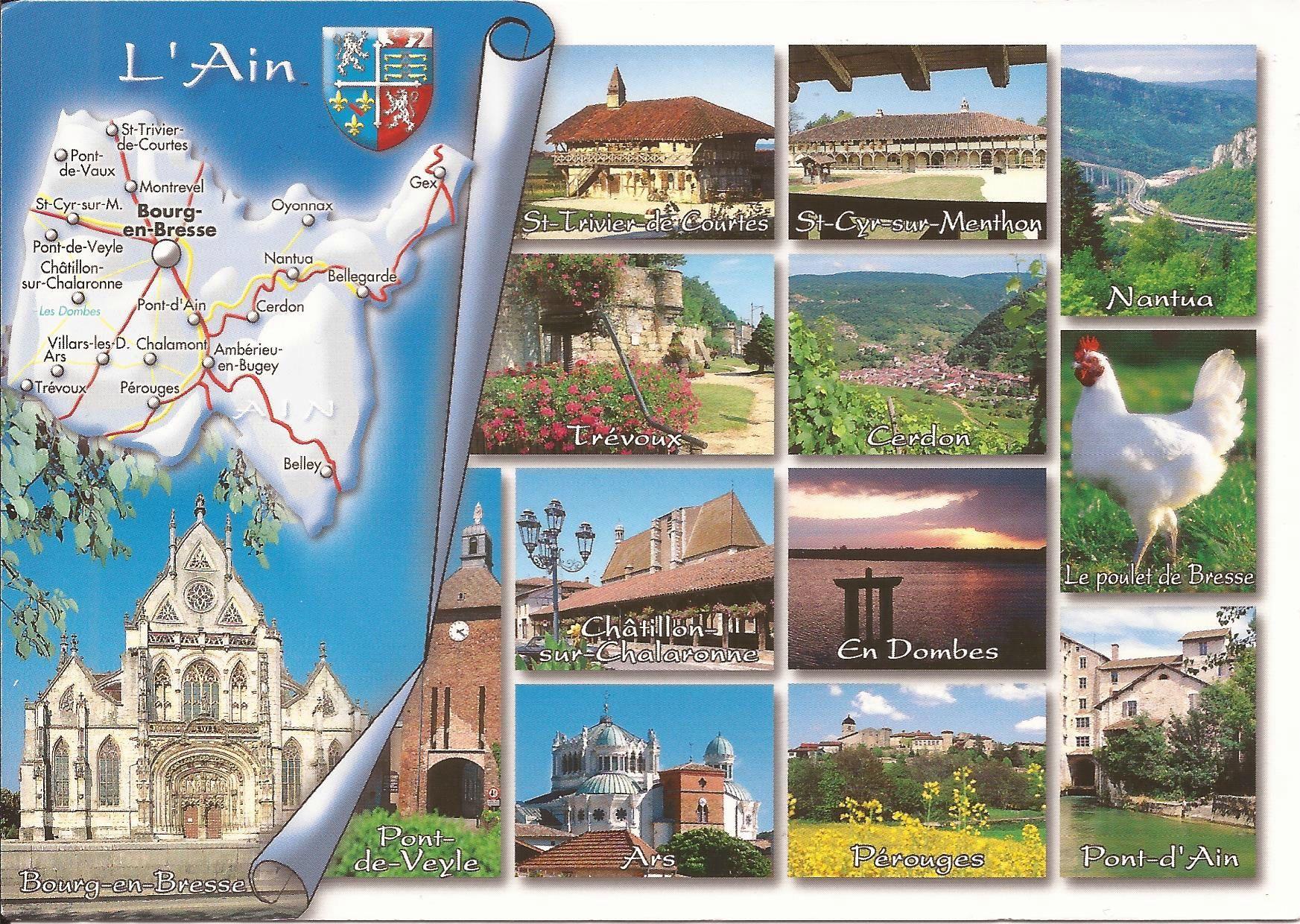 01 Ain Dans Ma Boite Aux Lettres Cartes Postales De France
