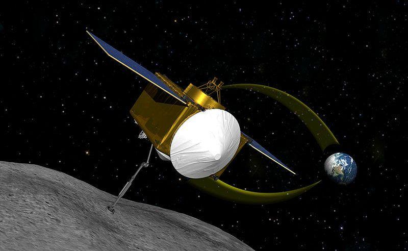 Osiris-Rex is a Near-Earth Asteroid Sample Return Mission. http://www.aerospaceguide.net/osiris-rex.html  #space #earth #orbit #nasa #spacecraft
