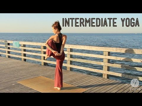 intermediate yoga routine ocean flare  yoga routine