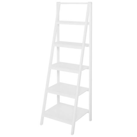 Pleasing Ladder Storage Unit White Storage And Organisation In 2019 Inzonedesignstudio Interior Chair Design Inzonedesignstudiocom