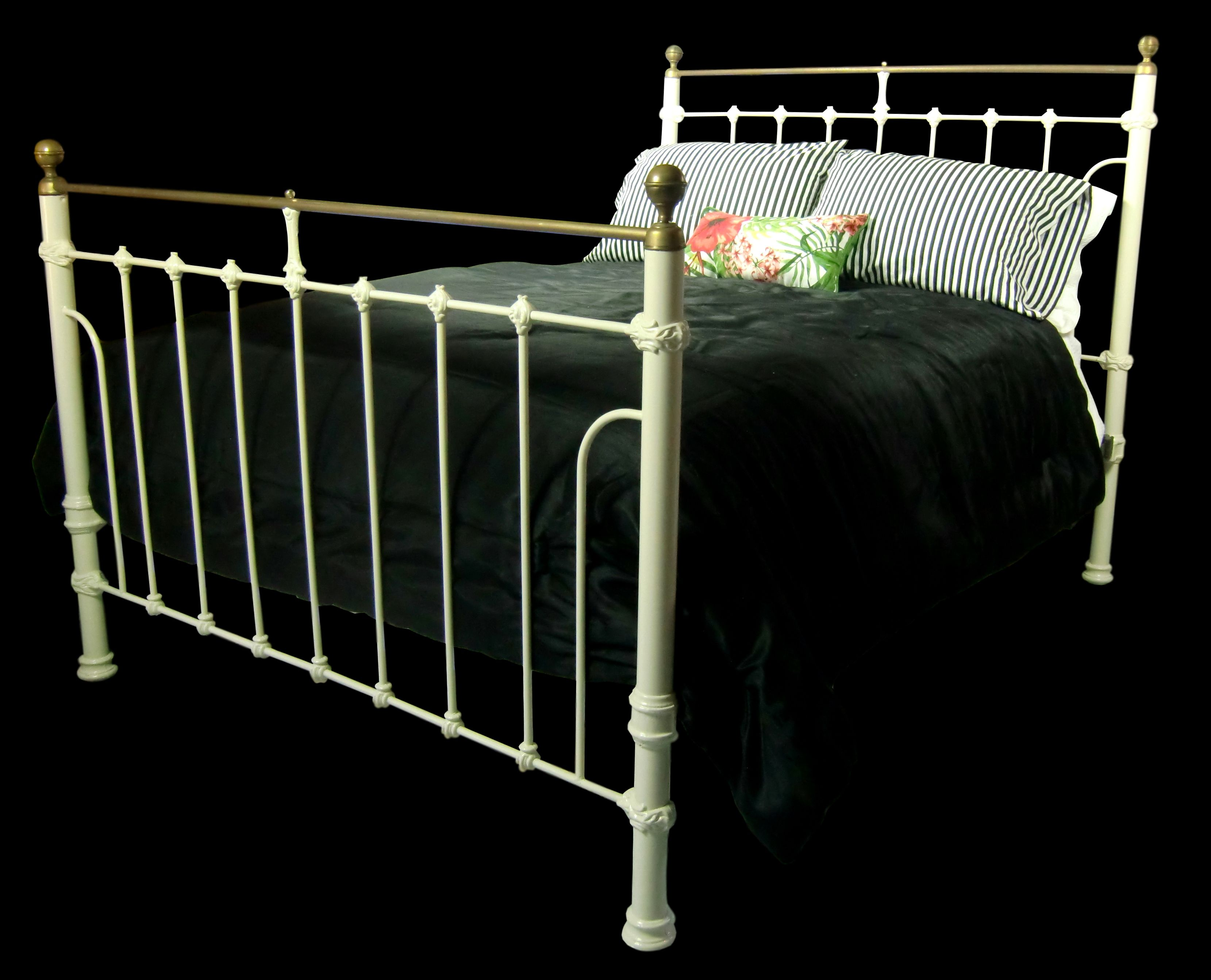 Queen Antique Iron Bed Cast Iron Bed Antique Iron Bed Etsy Cast Iron Beds Antique Iron Beds Wrought Iron Beds