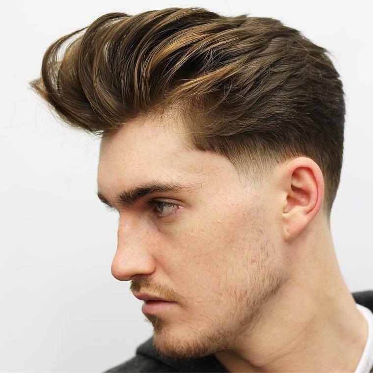 Peinados Para Hombres La Modernidad Plasmada En Su Imagen Peinados De Hombre Peinado Tupe Hombre Y Cabello Para Hombre