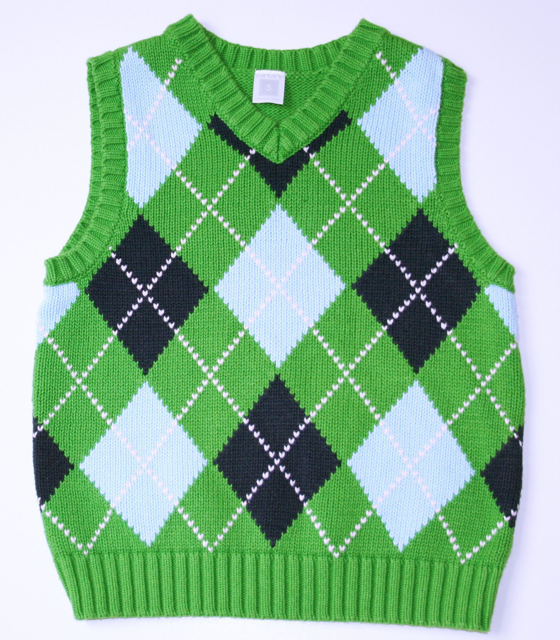 Green & Blue Argyle Sweater Vest | Products | Pinterest | Vests ...