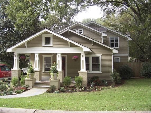 Which Style Home Would You Choose Centsational Style Craftsman Style Homes Craftsman Bungalows Craftsman House