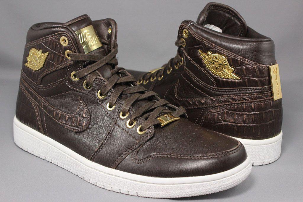 1b02d4125f02 Jordan Brand Tries Crocodile Skin on Air Jordan 1s