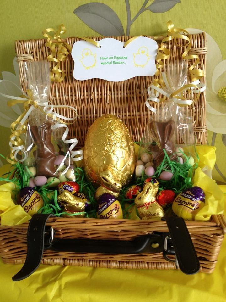 Easter hampers dyi gifts pinterest hamper easter and easter easter hampers negle Image collections