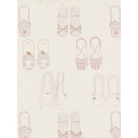 Comprar Arlequín Wallpaper, Twinkle Toes 70810, color de rosa / crema / oro en línea en johnlewis.com