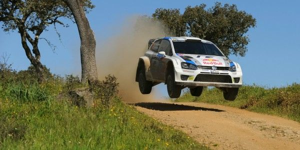 volkswagen polo wrc rally portugal