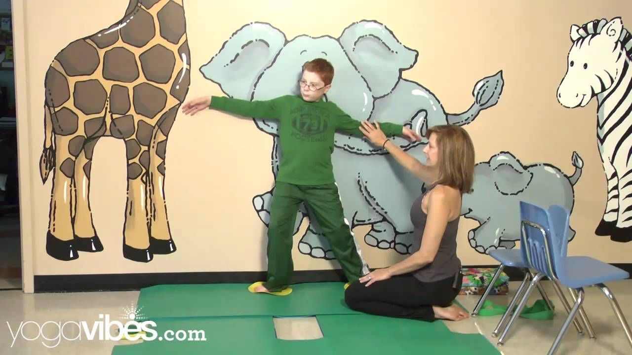 Kids yoga therapy for cerebral palsy use
