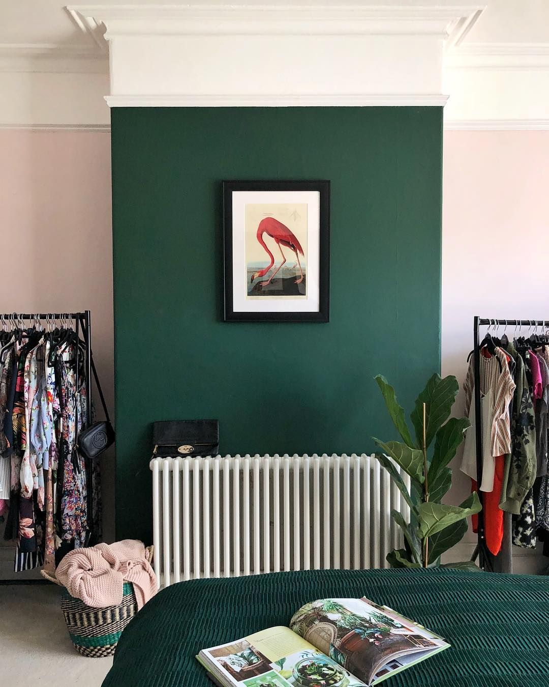 Green And Pink From Harrison Nate And Me Living Room Green