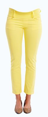 Skinny Ankle Yellow Maternity Jeans from Maternal America  http://www.justmaternityjeans.com/usa/turquoise-ankle-maternity-jeans
