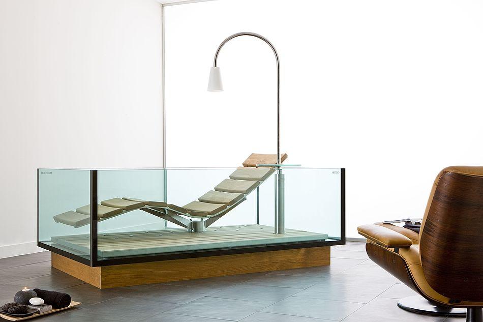Hoesch Badewanne Whirlwanne Water Lounge Freistehend Mit