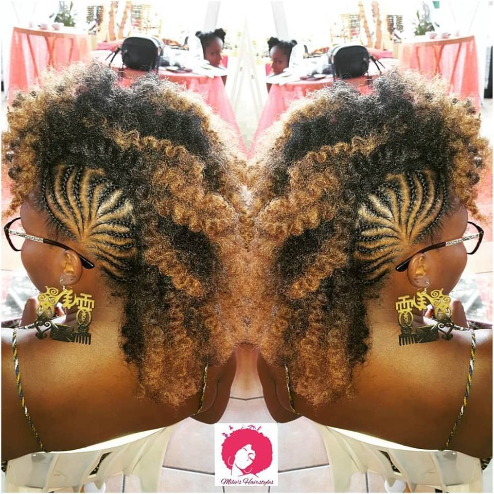 Mohawk crochet braid hair styles pinterest crochet braid