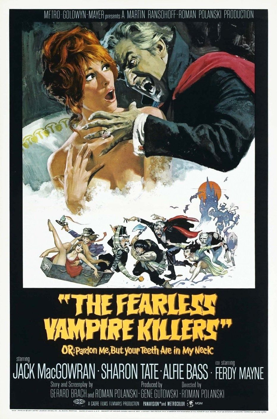 Roman Polanskis The Fearless Vampire Killers | Vampire movies, Horror posters, Movie posters