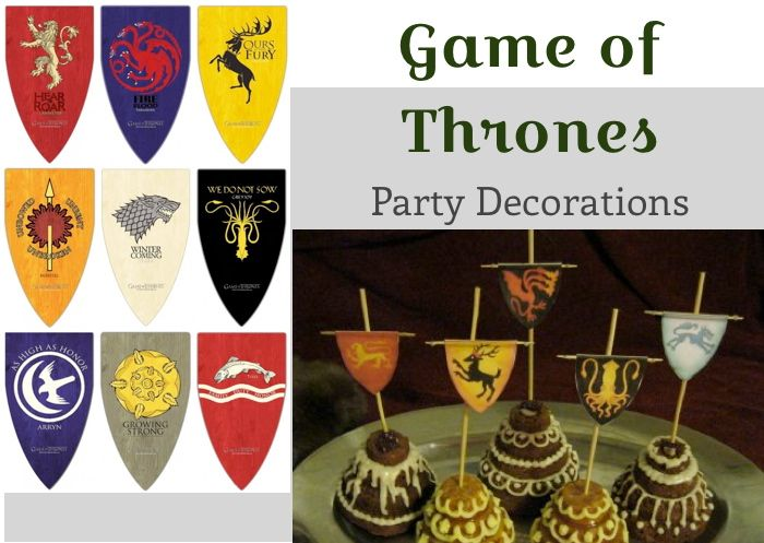 Game of thrones party ideas gaming birthdays and party time Game decoration