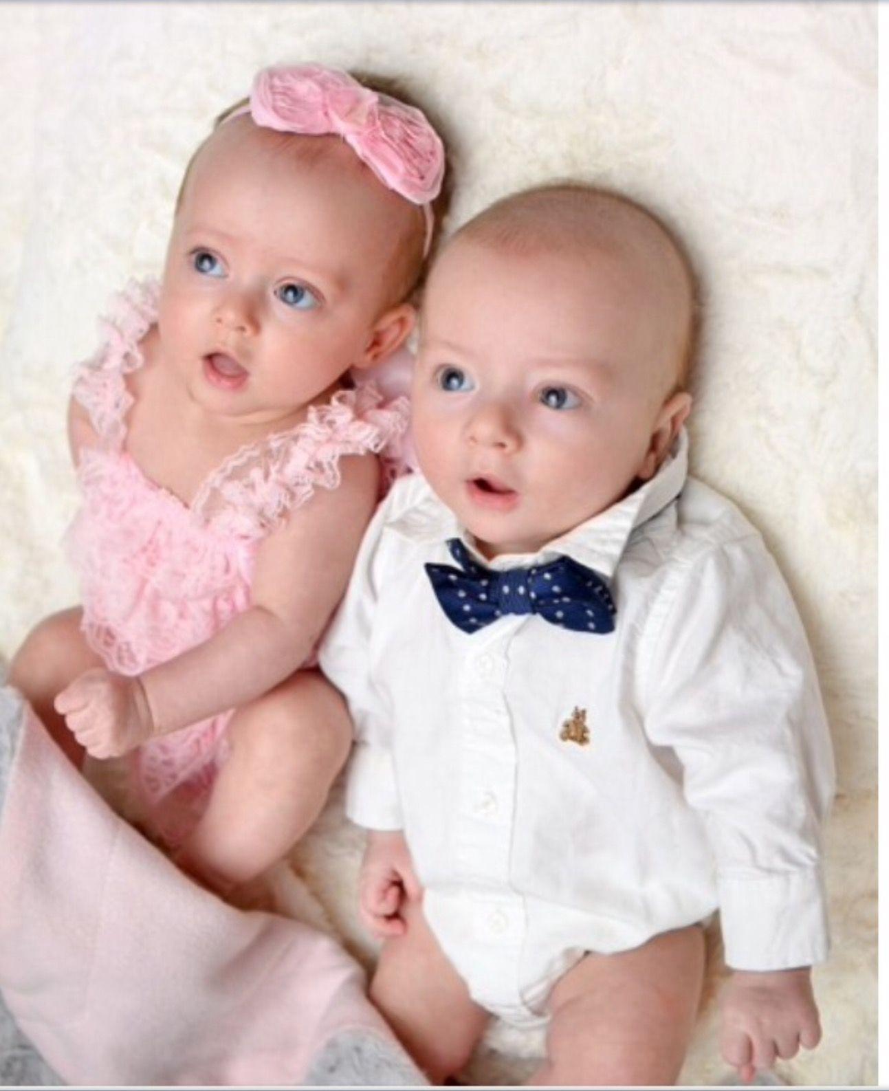 Двойняшки картинки девочка и мальчик