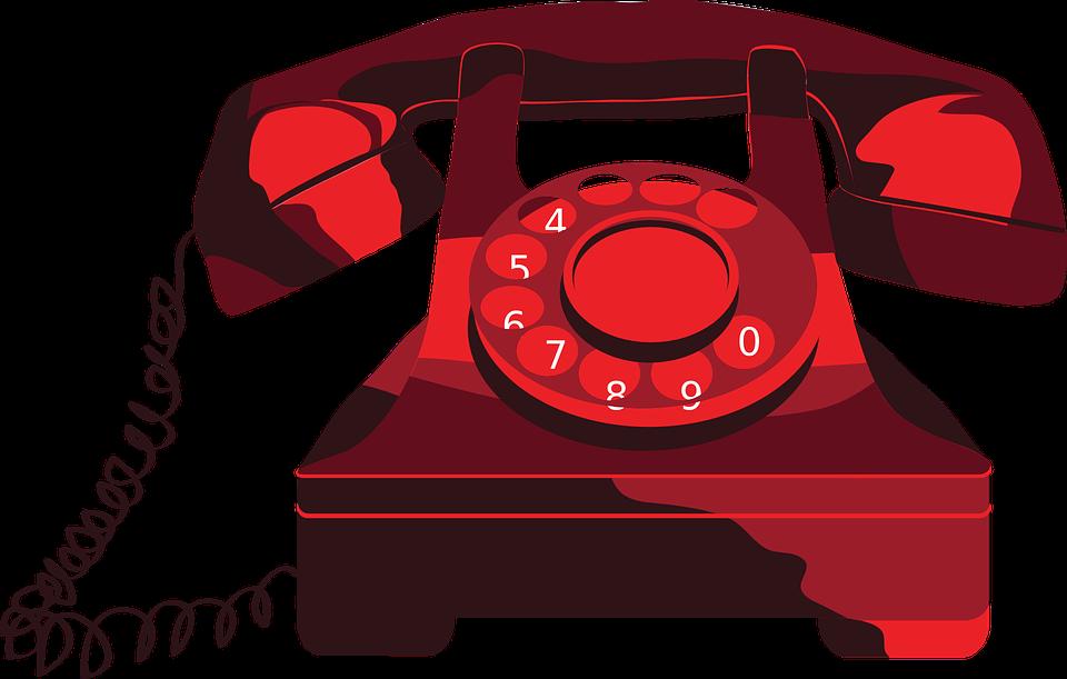Free Image on Pixabay Phone, Red, Vintage, Vectors