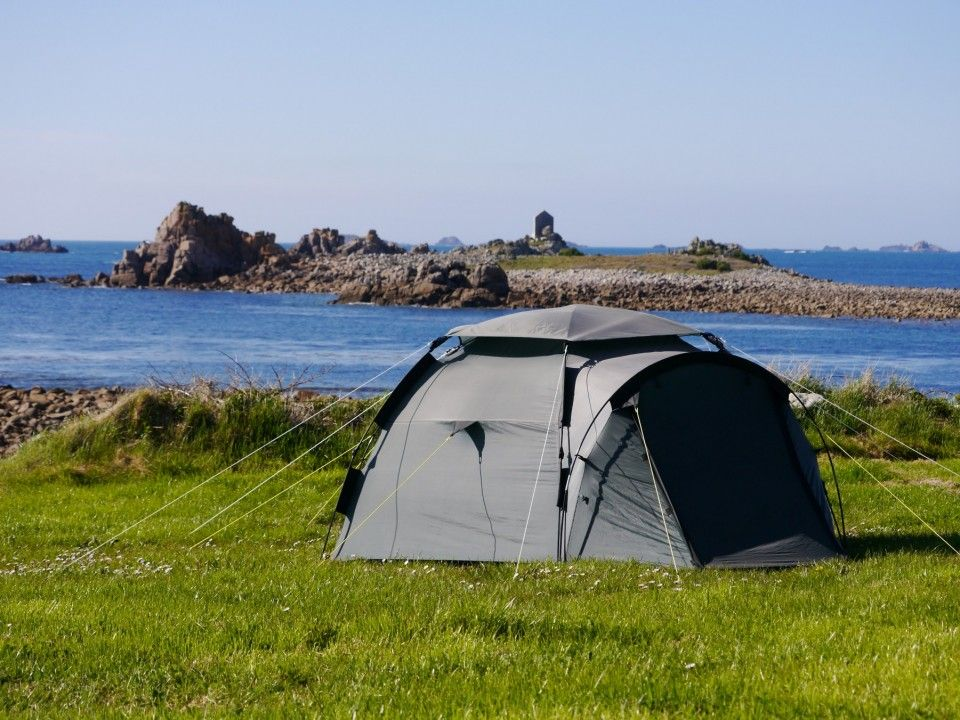 Troytown Campsite On The Waters Edge Of St Agnes Island Isles Scilly