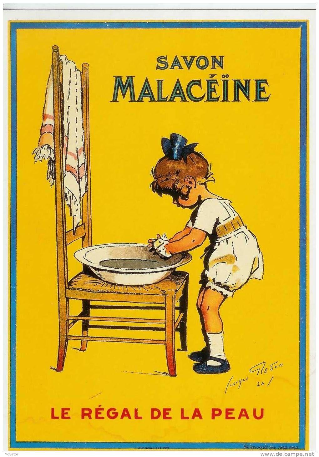 Affiche Ancienne Pour Salle De Bain salvon malaceine poster | affiches publicitaires vintages