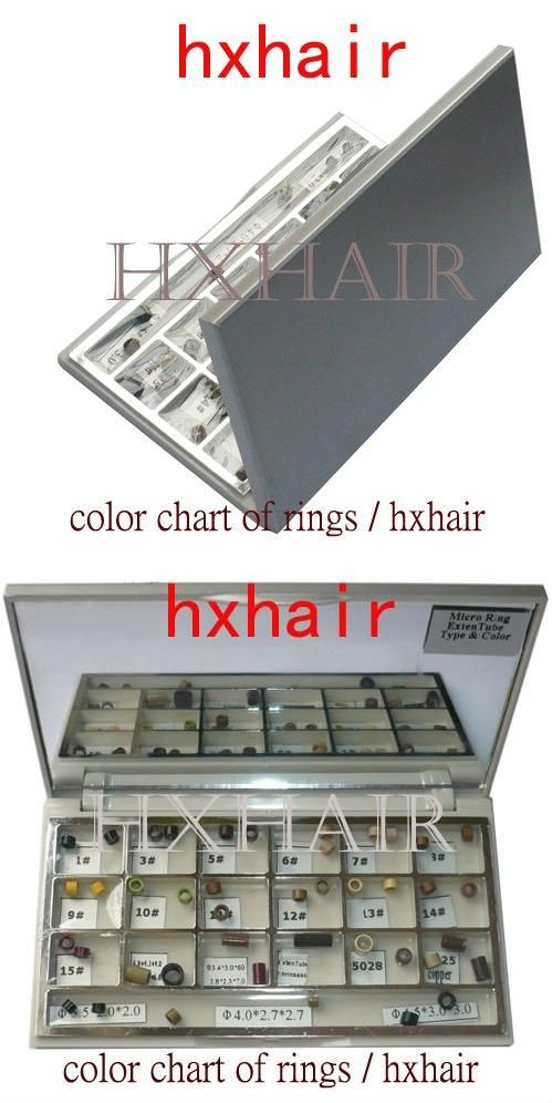 Epacket Color Chart Of Rings Micro Ring Links Pre Bonded I Tip