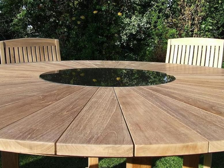 Teak Wood Garden Furniture Elegant round garden table garden ideas pinterest round garden tips on buying teak garden furniture and how to tell the difference between high and low quality furniture workwithnaturefo