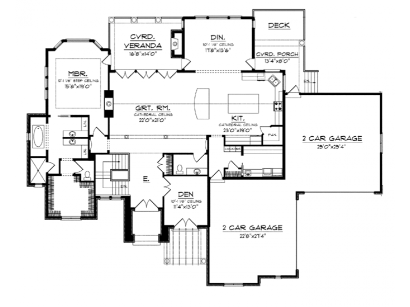 Eplans mediterranean house plan tuscan style beauty with for Eplans floor plans