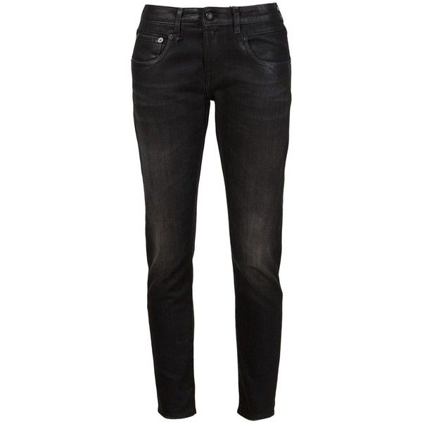 Discount Original stonewashed skinny jeans - Black R13 Discount Wholesale Price Cheap Good Selling fbgYZC