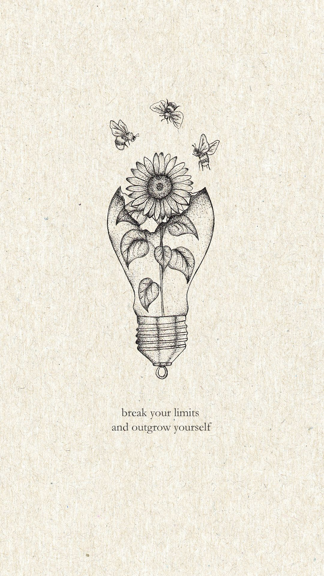 Break your limits and outgrow youtself print