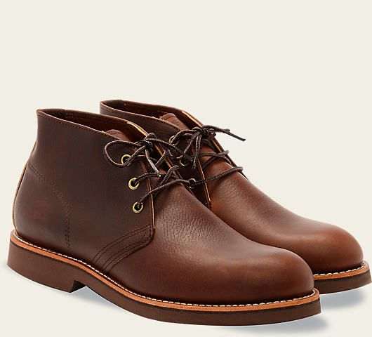 31bd4f00821 FOREMAN CHUKKA STYLE NO. 9215 in Briar Oil Slick Leather from Red ...