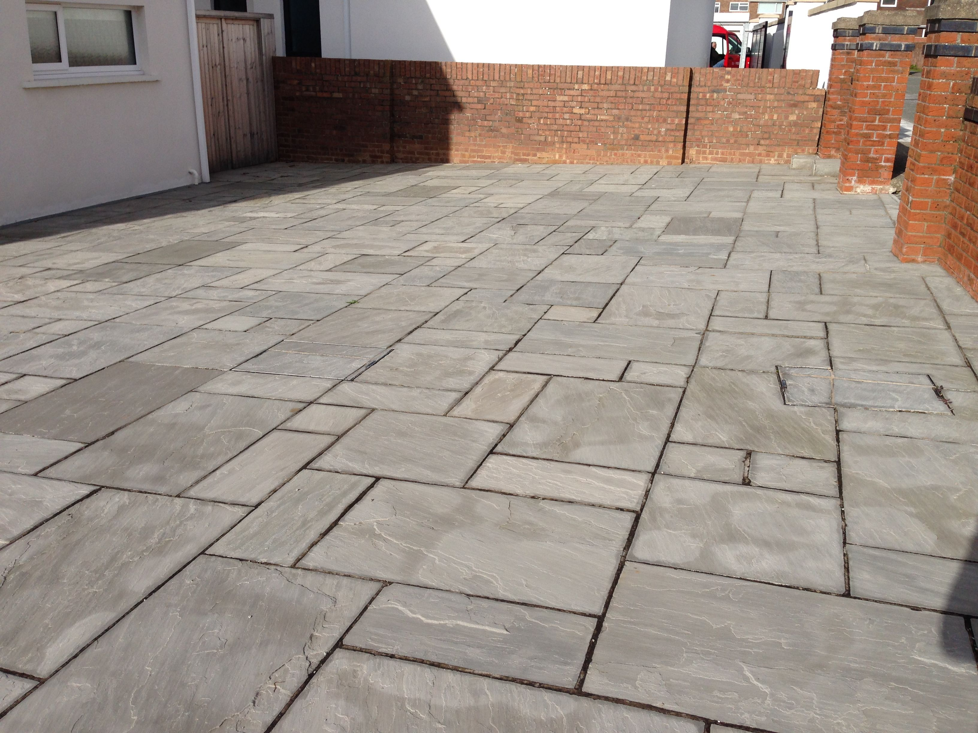 Kandla grey indian paving in wales flagstones natural flagstone kandla grey indian paving in wales flagstones dailygadgetfo Images