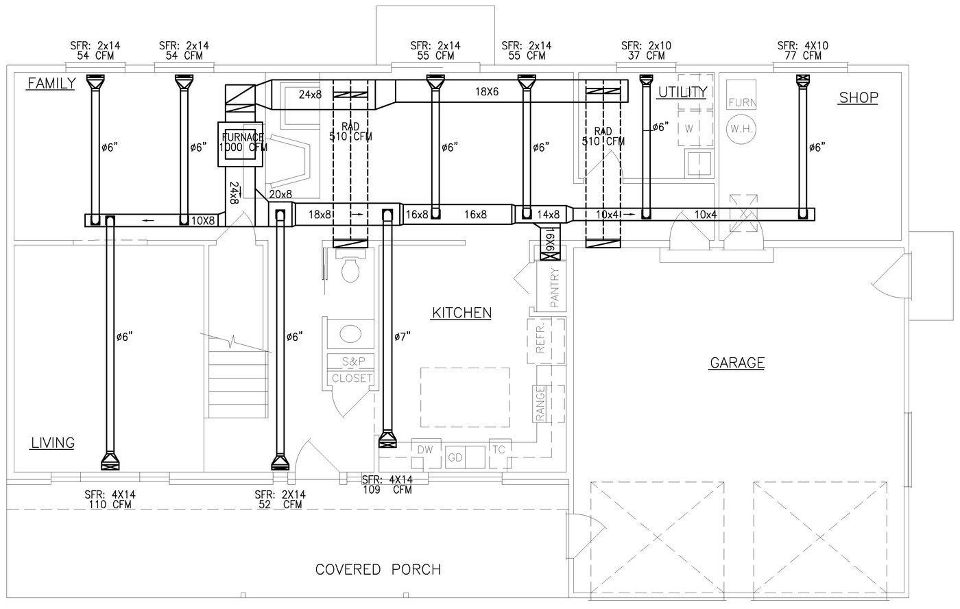 HVAC Plans by Raymond Alberga at Coroflot.com   Hvac system design, Hvac,  Plumbing installation   Hvac Drawing Plans      Pinterest