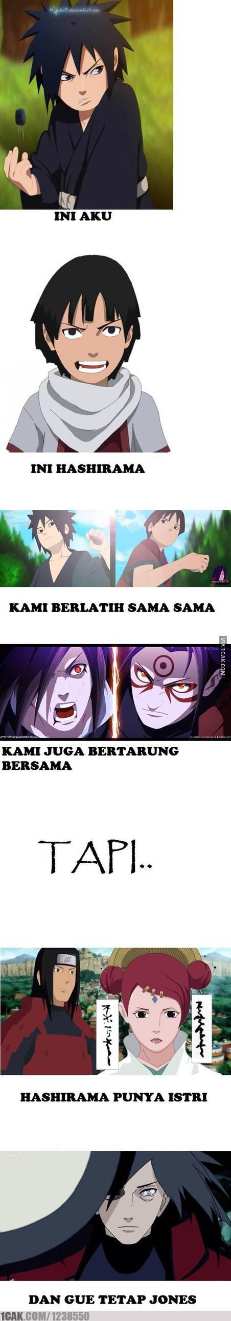 Madara Dan Hashimara Meme Indonesia Lucu V V Pinterest