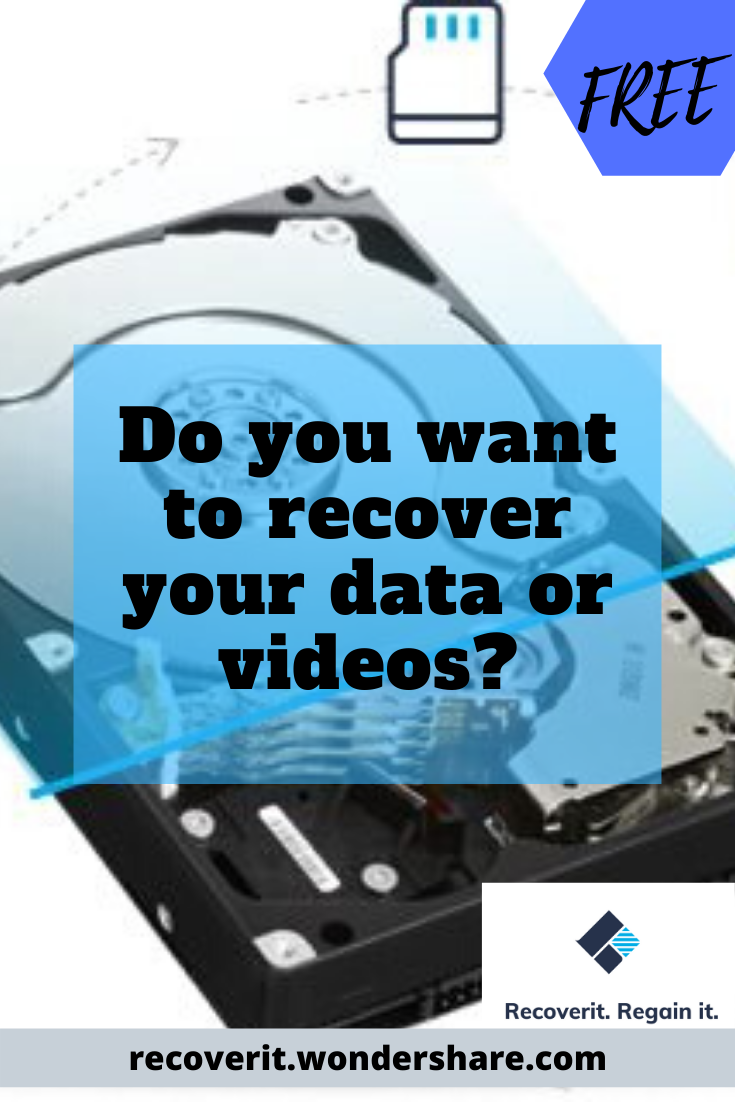 Do You Want To Recover Your Data Or Videos Data Recover Recover