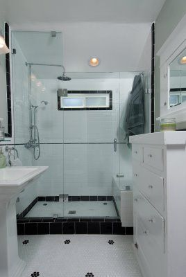1920s bathroom bathroom shower pinterest bungalow for 1920s bathroom ideas