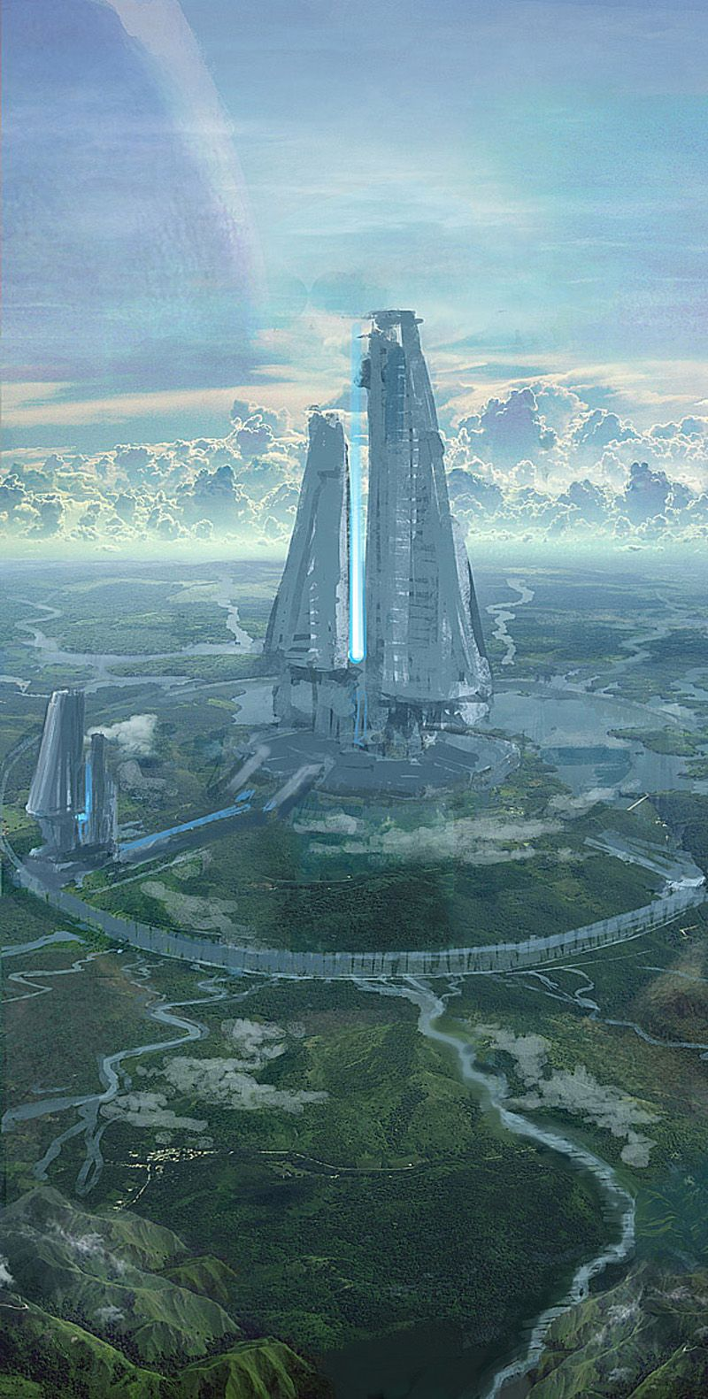 halo-related art of mike hill