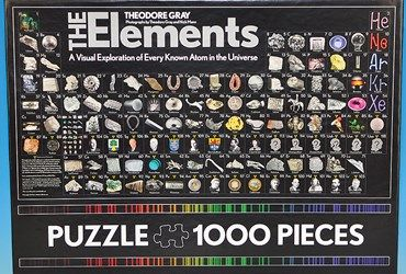 The elements periodic table jigsaw puzzle will captivate any science the elements periodic table jigsaw puzzle will captivate any science lover urtaz Images