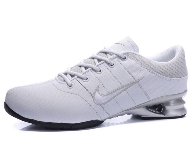 factory price 8e9a8 b5e02 Chaussures Nike Shox R2 Blanc  Gris  Argent  nike 12130  - €46.86   Nike  Chaussure Pas Cher,Nike Blazer and Timerland www.facebook.com .