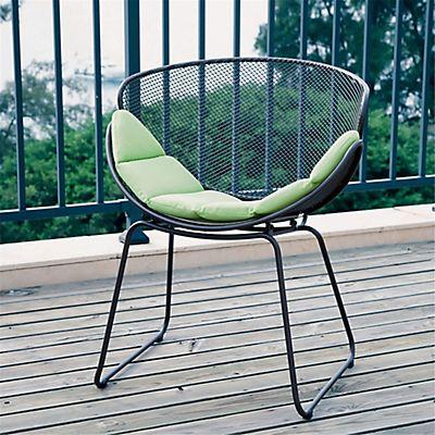 fauteuil de jardin relax gris en acier tle perfore - Relax De Jardin