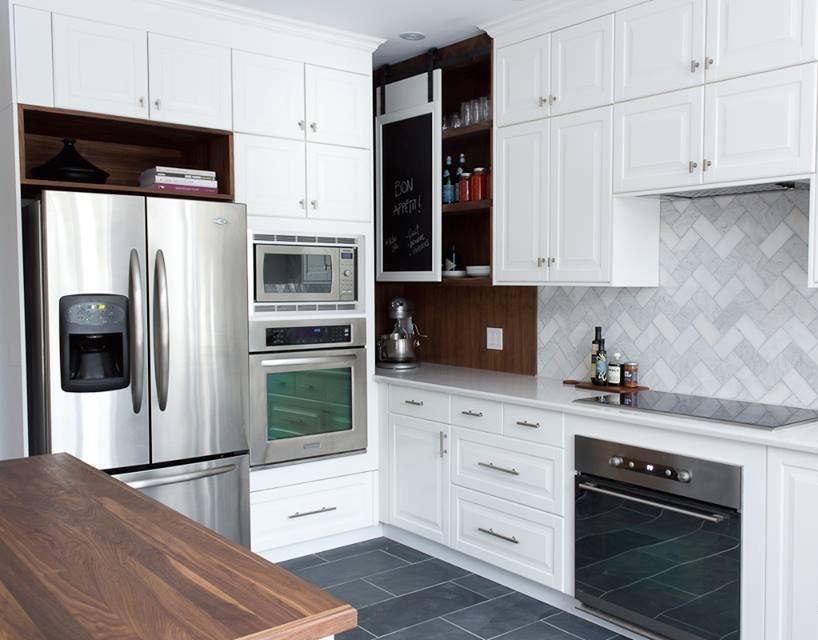 m tamorphose r no de cuisine sombre cuisine luxueuse pinterest cuisine blanche purer. Black Bedroom Furniture Sets. Home Design Ideas