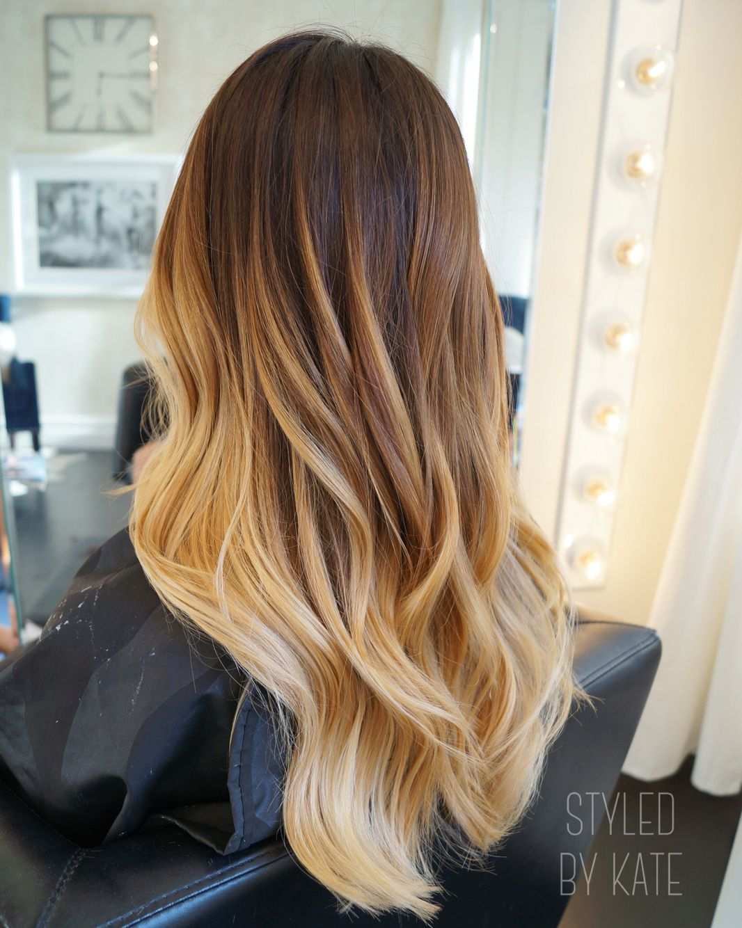 California Blonde Balayage Styledbykate In 2019 Hair
