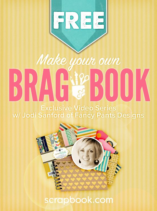 Fancy Pants Brag Book Class. Jodi Sanford, owner and creative director for Fancy Pants, shows you how to create a beautiful, fun brag book. Jodi covers how to make a simple and unique album by mixing and matching an assortment of Fancy Pants collections.