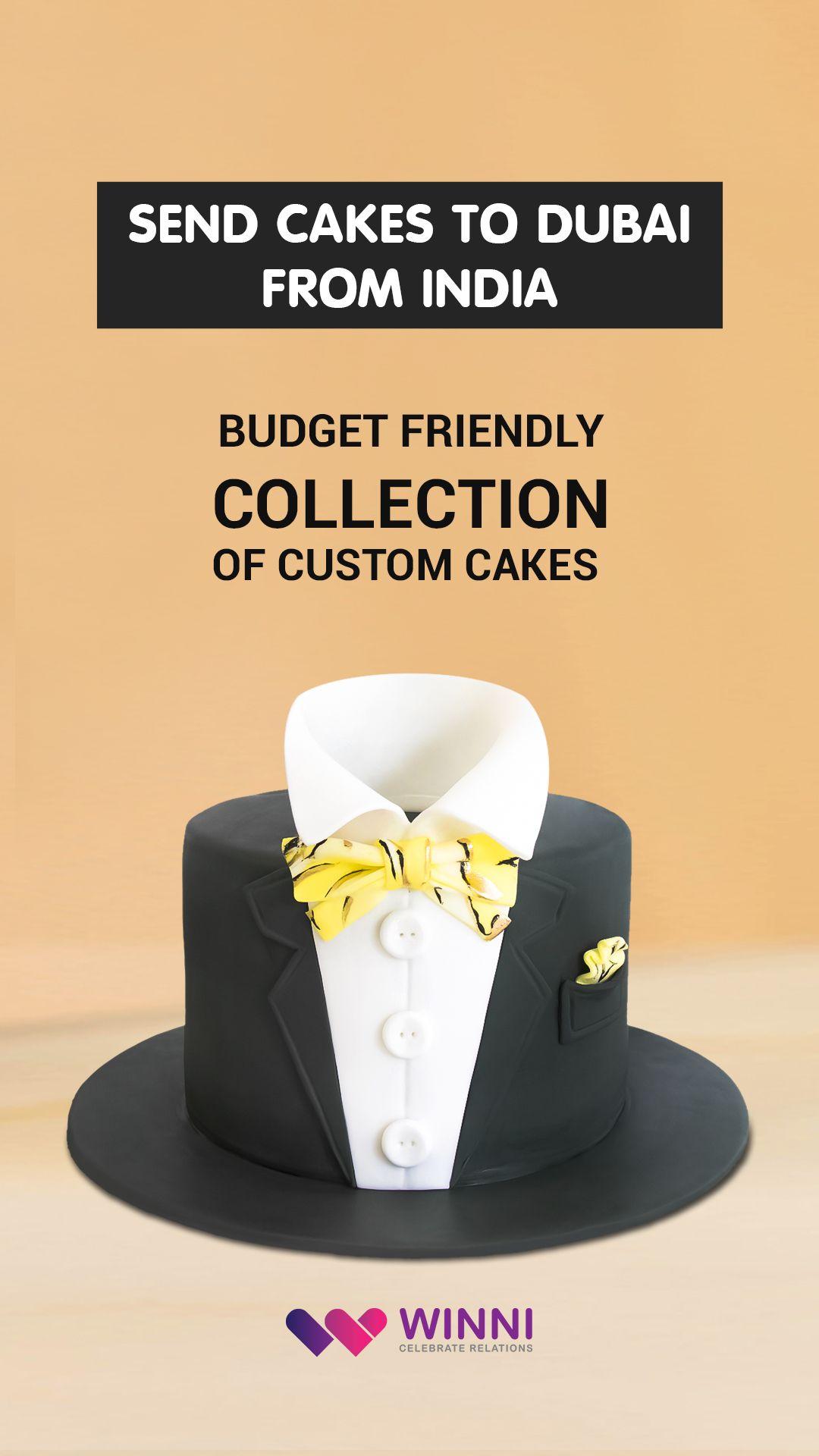 Send Cake To Dubai From India Winni Cake Custom Cakes Cake Designs